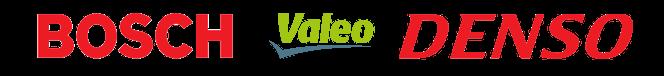 Logo Bosch, Valeo, Denso